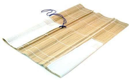 Penselmatta av bambu