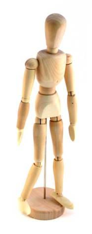 Modelldocka 54cm