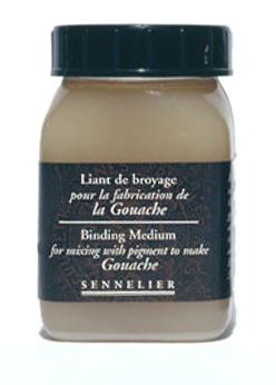 Bindemedel för gouache
