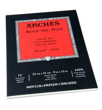 Oljemålningsblock Arches