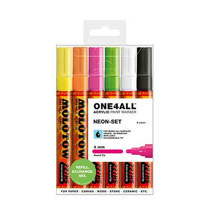 Molotow 4mm Neon Set