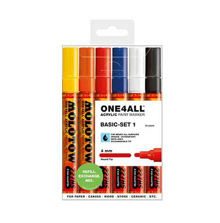 Molotow 4mm Basic Set 1
