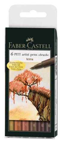 Pitt Artist Pen Terra-set