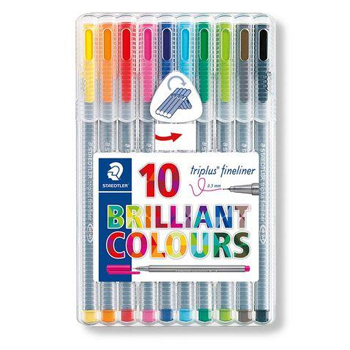 Triplus Fineliner set 10st