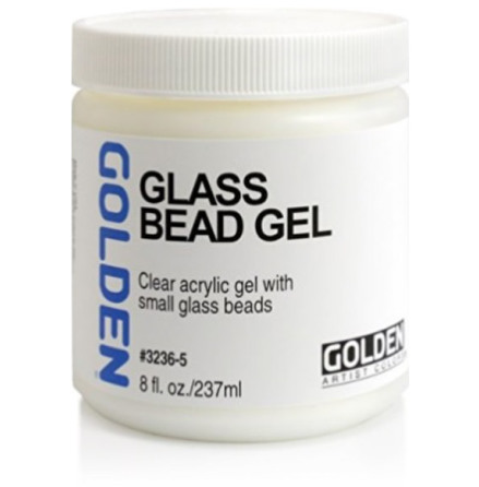 Golden 237ml Glass Bead Gel