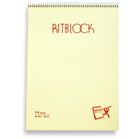 Ritblock Plano