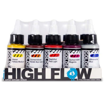 Golden High Flow set 30ml