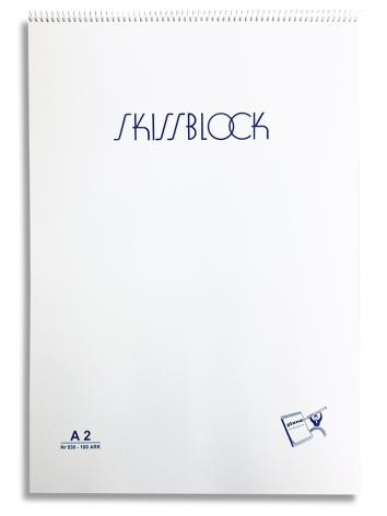 Krokiblock A2 Plano