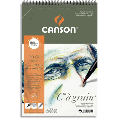 Canson C á grain ritblock
