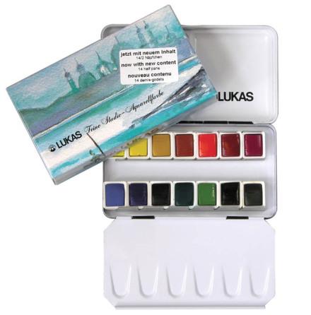 Lukas akvarellåda 6741