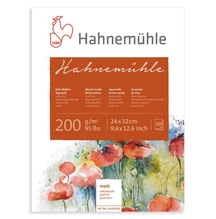 Akvarellblock Hahnemuhle 200g
