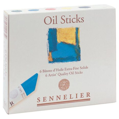Oil Stick Sennelier Startset 6 kritor