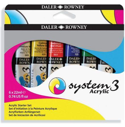System 3 Starter Set 6x22ml