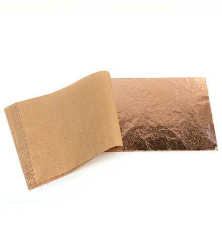 Slagmetall koppar Lösa blad 14x14cm 1 bok
